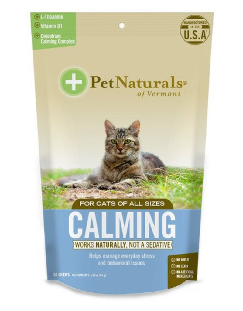 Pet Naturals of Vermont Calming for Cats 30 Chews
