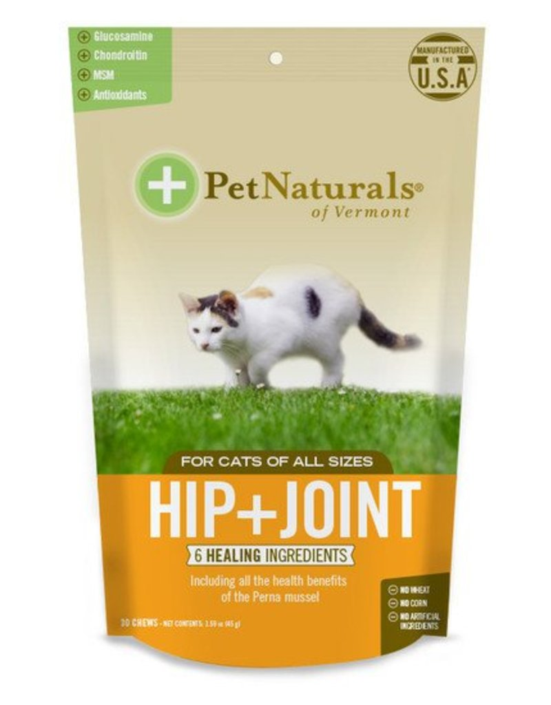 Pet Naturals of Vermont Cat Hip & Joint 30CT