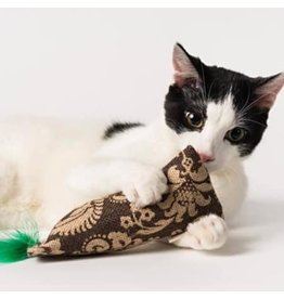 Crochet Kitty Crochet Kitty Burlap Catnip & Crinkle Kickin' Stick
