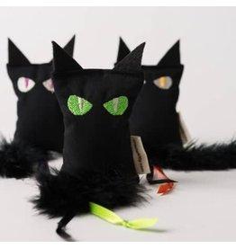 Crochet Kitty Crochet Kitty Black Catnip Cat