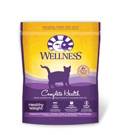 Wellness Dry Cat Grain Free Indoor Healthy Weight Chicken 2.25 Lb