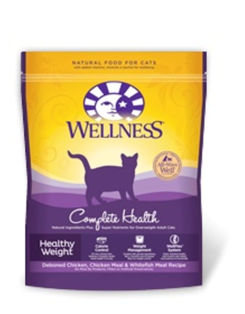 Wellness Dry Cat Grain Free Indoor Healthy Weight Chicken 2.25 Lb