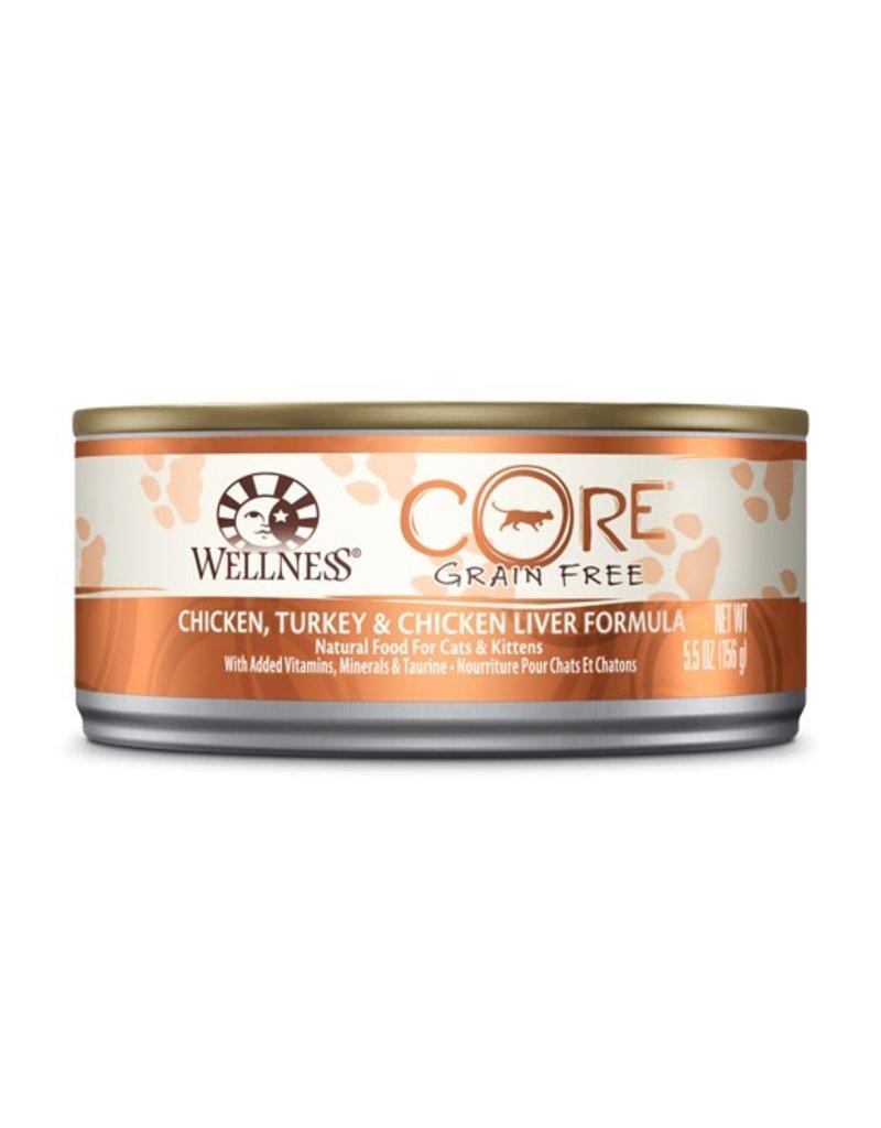 Wellness Canned Cat Core Chicken & Turkey 5.5 oz