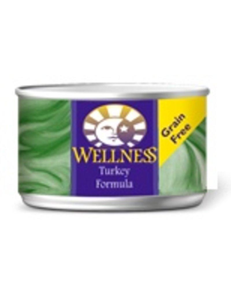 Wellness Canned Cat Turkey Pate 3 oz