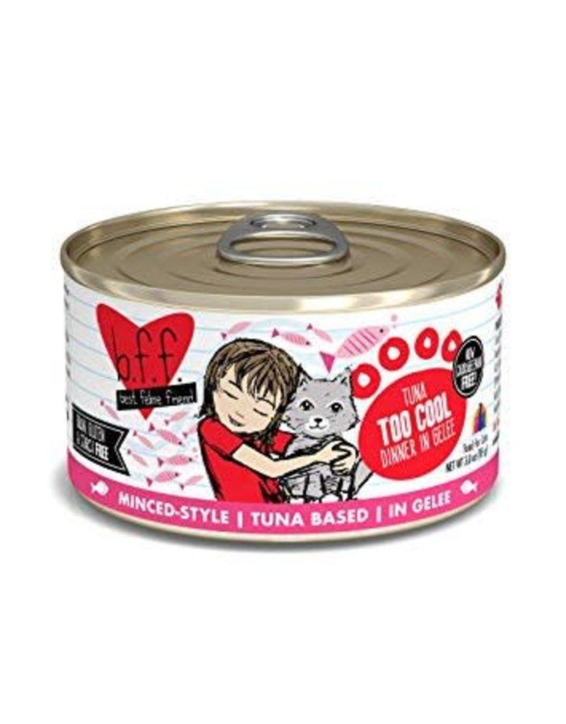 BFF Canned Cat Too Cool Tuna 3 Oz