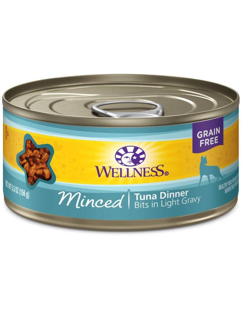 Wellness Canned Cat Minced Tuna 5.5 Oz