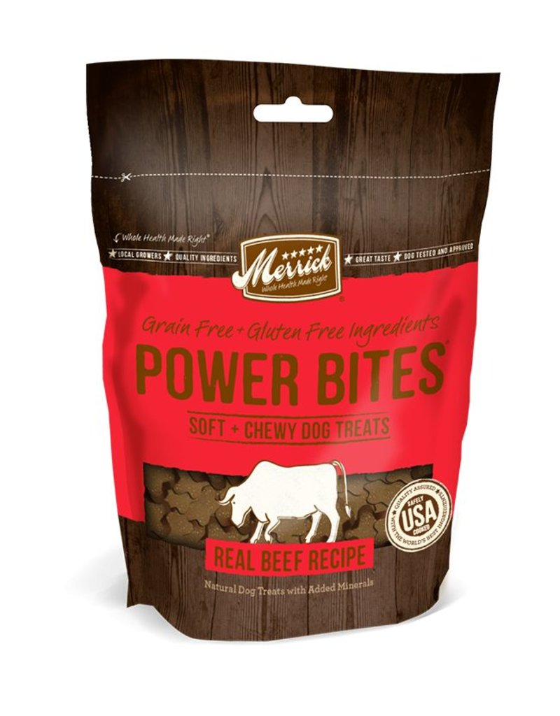 Merrick Power Bites Treats 6 oz
