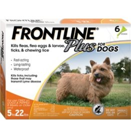 Frontline Dog Plus 5-22 lb
