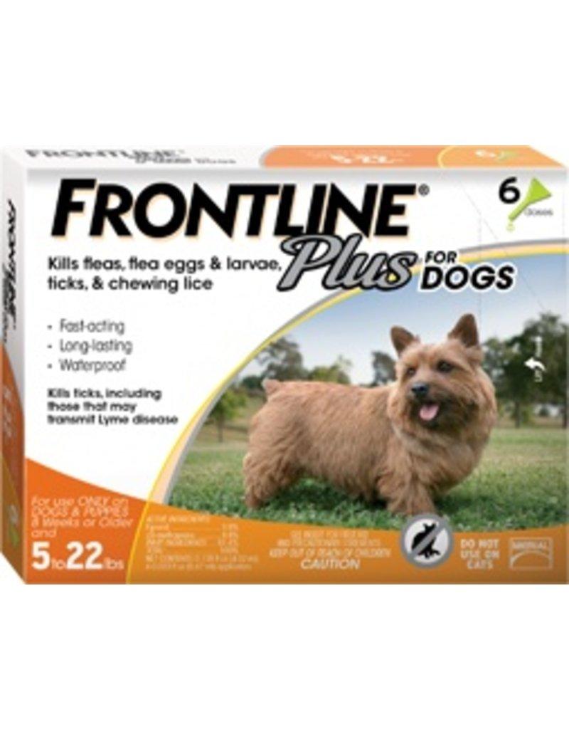 Frontline Dog Plus 5-22 lb