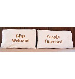 Dog Speak Pillow Case Set