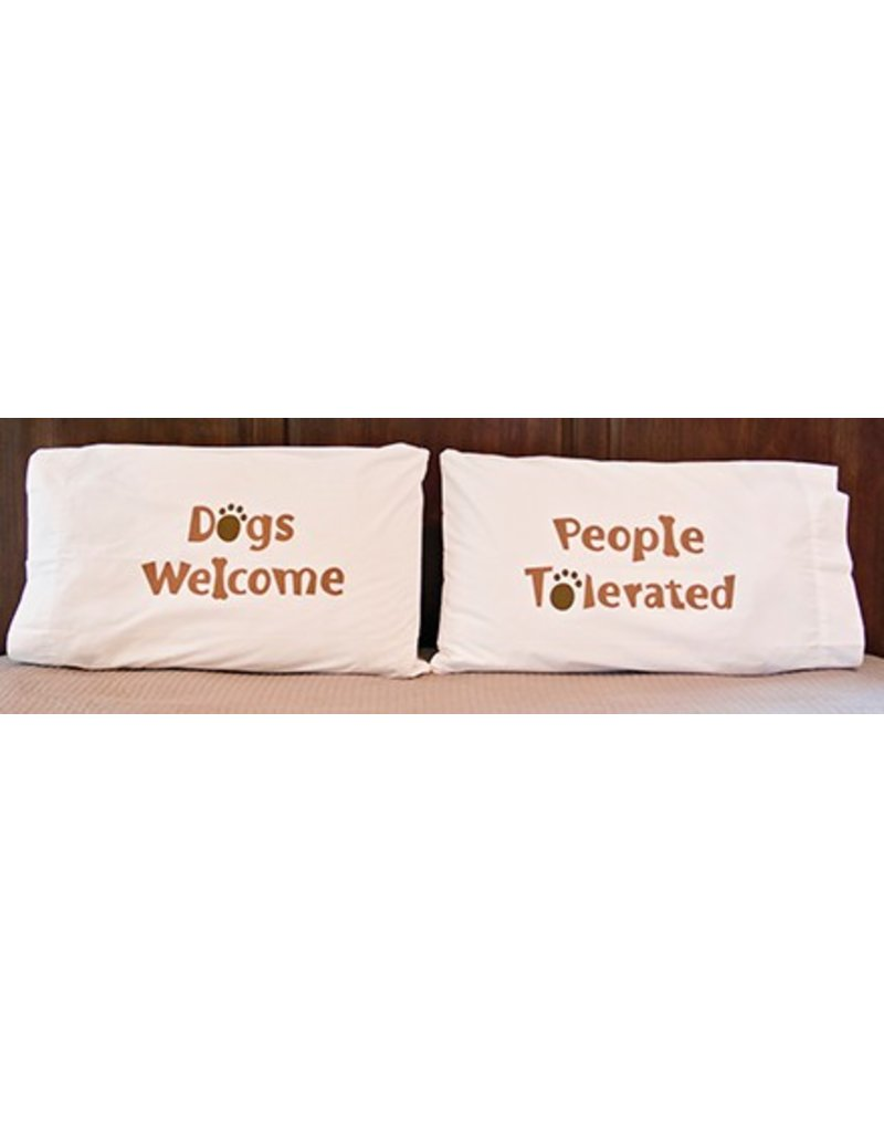 Dog Speak Pillow Case Set