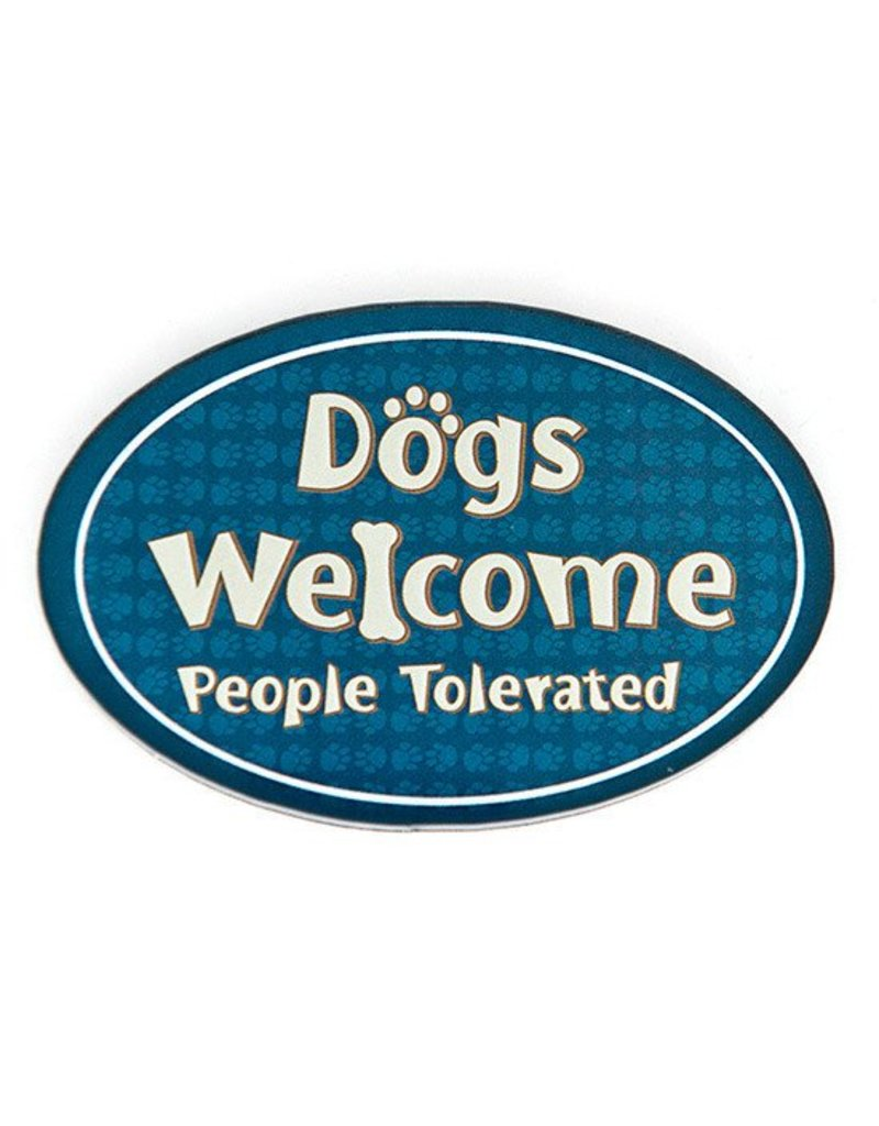Dog Speak Acrylic Magnet