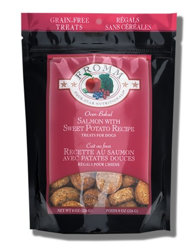 Fromm Family Pet Food Fromm Four Star Dog Treats Salmon 8 OZ