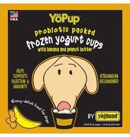 Yoghund All Natural Banana & Peanut Butter Frozen Yogurt