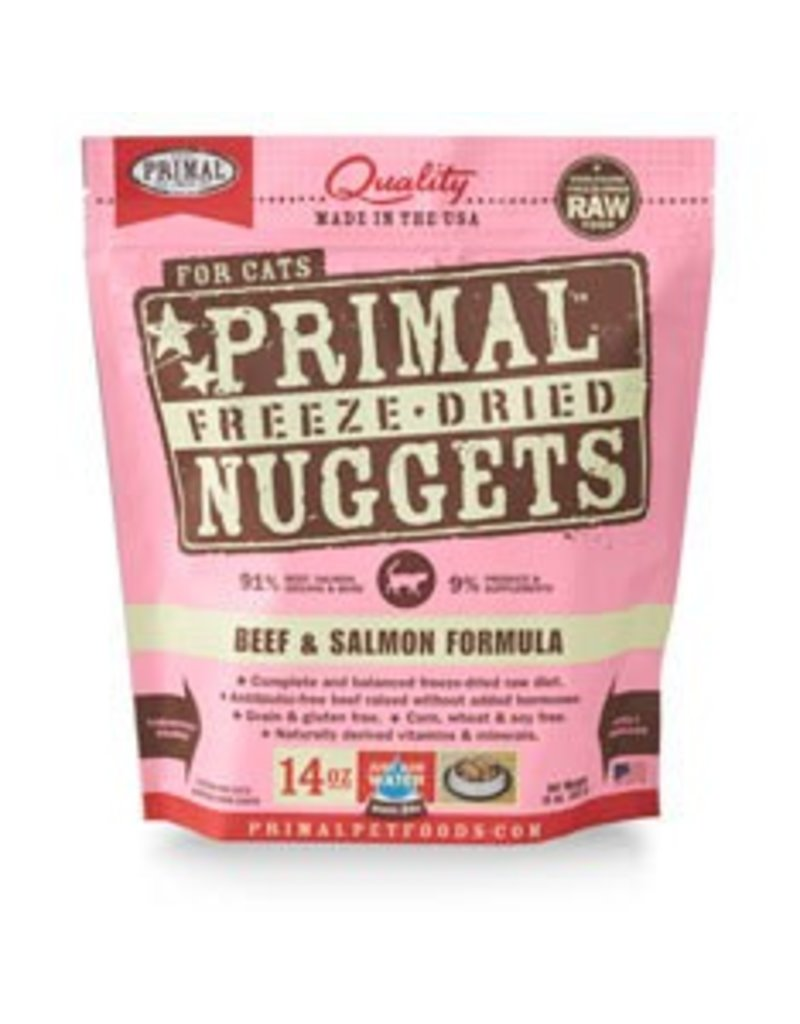 Primal Cat Freeze Dried Beef & Salmon 14 oz