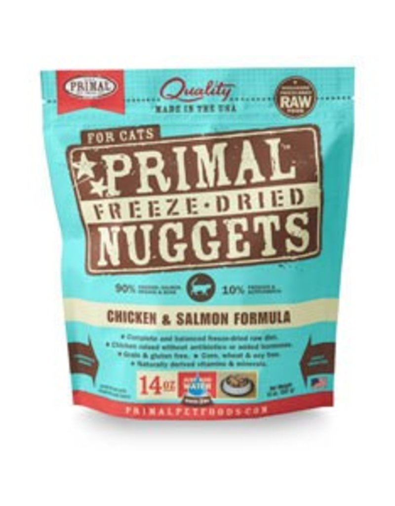 Primal Cat Freeze Dried Chicken & Salmon 14 OZ