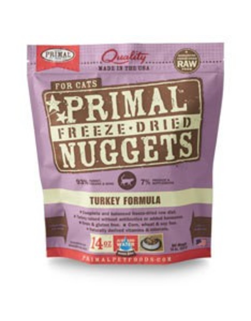 Primal Cat Freeze Dried Turkey 14 OZ