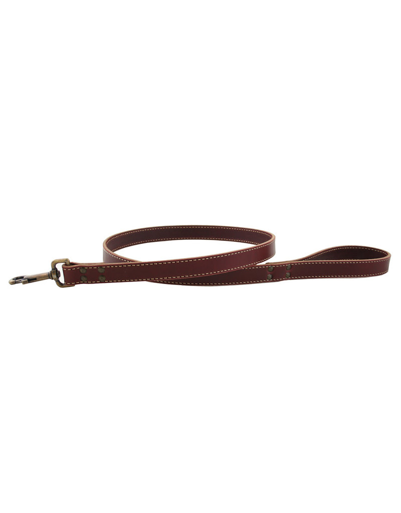 AUBURN LEATHERCRAFTERS AUBURN LEATHERCRAFTERS LAKE COUNTRY STITCHED LEASH 1X72
