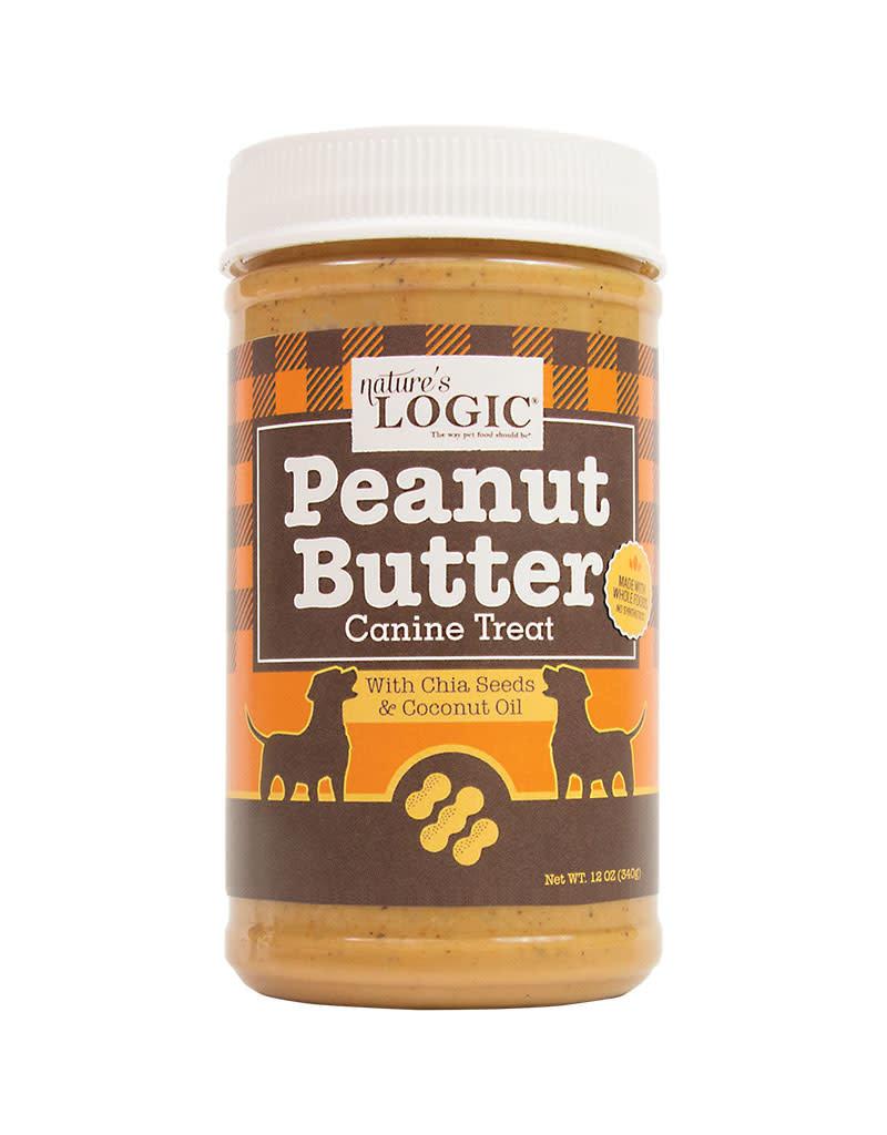 Nature's Logic Dog Jar Peanut Butter 12 OZ