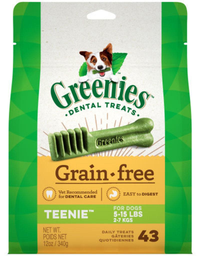 Greenies Dog, Grain free, Teenie 43 ct 12 oz