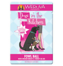 Weruva Canned Dog Pouch Fowl Ball 2.8 OZ