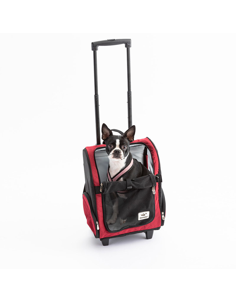 Snoozer Snoozer Roll Around Travel Dog Carrier Backpack 4-in-1Medium