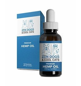Zen Dogs & Cool Cats Zen Dogs & Cool Cats Organic CBD Oil 250 MG 1 Oz