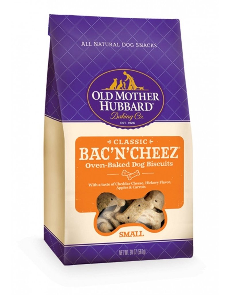 Old Mother Hubbard Bac n Cheez Small 20 OZ