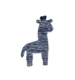 WEST PAW DESIGN West Paw- Floppy Giraffe Mini Navy Stripe