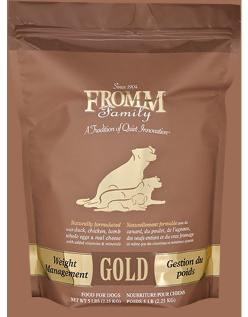 Fromm Family Pet Food Fromm Dry Dog Gold Weight Management 5 LB