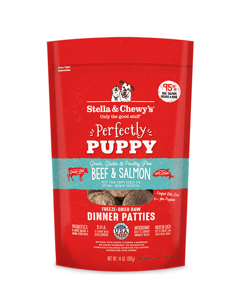 Stella & Chewys Puppy Dinner, Beef Salmon, 14 oz