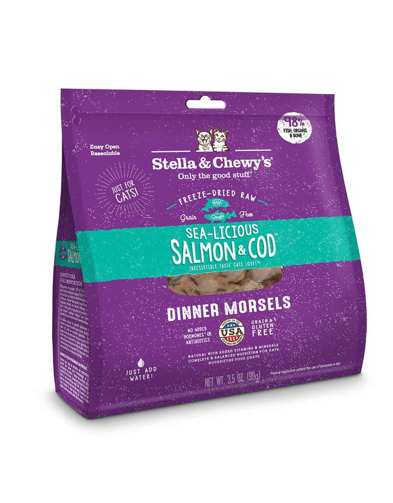 Stella & Chewy's Freeze-Dried Cat Dinner Salmon & Cod 8 Oz