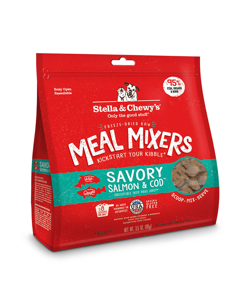 Stella & Chewy's Freeze-Dried Meal Mixers Salmon & Cod 3.5 Oz