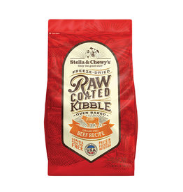 Stella & Chewy's Raw Coated Beef Dry Dog Kibble 3.5lb
