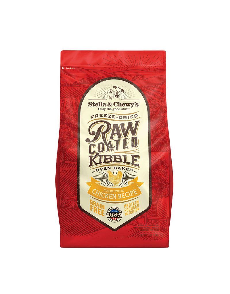 Stella & Chewy Dry Dog Raw Coated Chicken 22 lb
