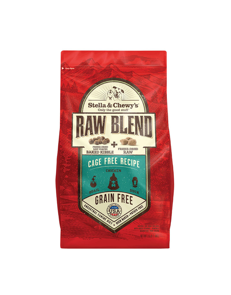 Stella & Chewy's Dog Raw Blend Cage Free 22 Lb