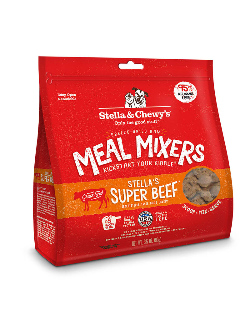 Stella & Chewy's Freeze-Dried Beef Meal Mixers 18 Oz