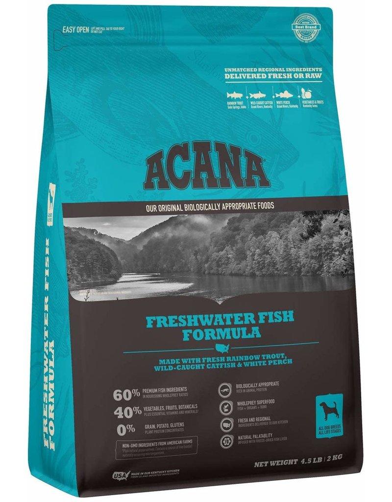 Acana Dry Dog Heritage Freshwater Fish 12 OZ Trial