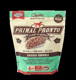 Primal Frozen Raw Dog Pronto Chicken 4 lb