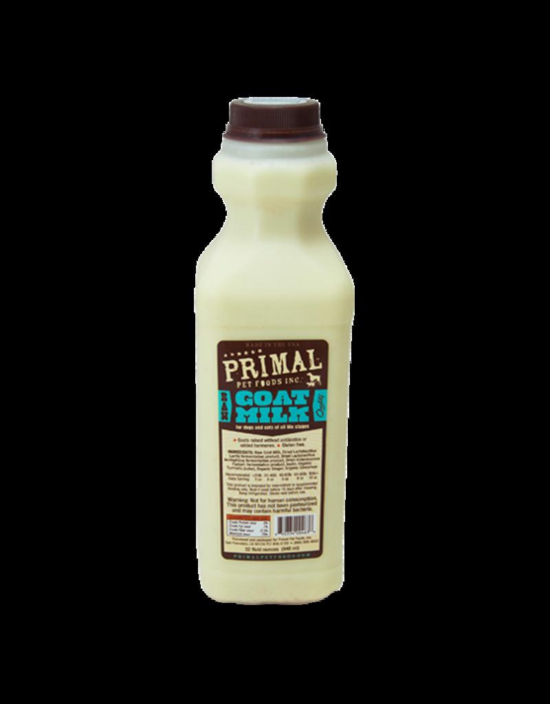 Primal Frozen Raw Goat Milk Dog & Cat 1 quart