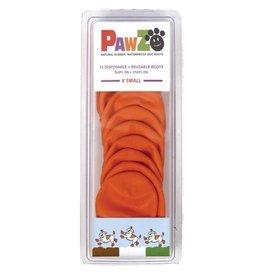 Pawz PAWZ BOOTIES ORANGE EXTRA Small XS 12 CT