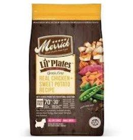 Merrick Dog Dry Lil' Plates Grain Free Chicken Sweet Potato 4 Lb