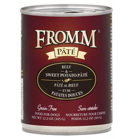 Fromm Family Pet Food Fromm Canned Dog Pate Beef & Sweet Potato 12.2 OZ