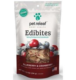 Pet Releaf Pet Releaf Edibites Blueberry Cranberry 7.5 Oz