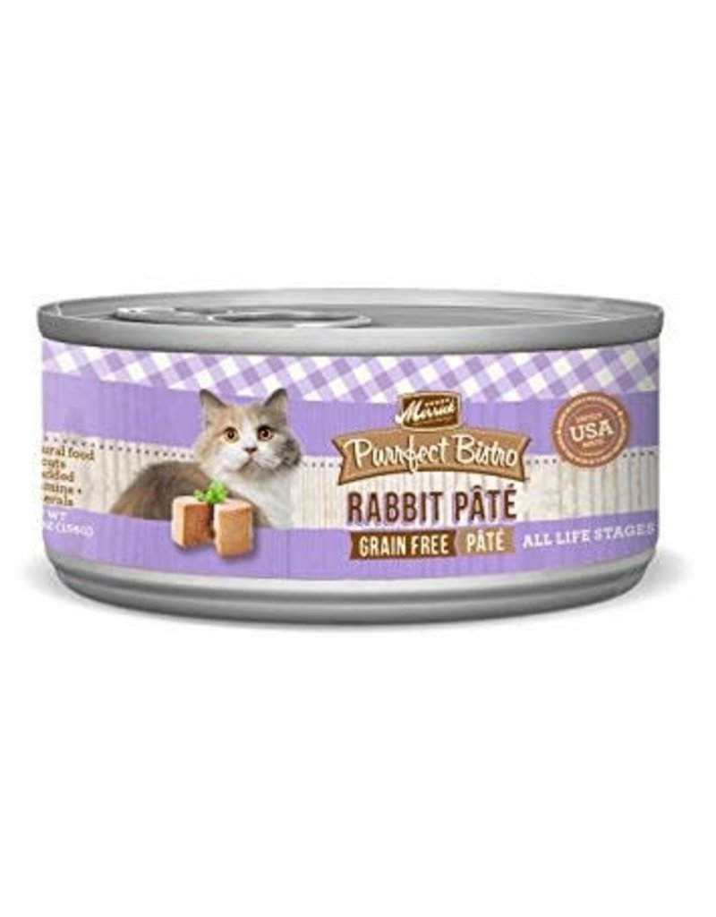 Merrick Canned Cat Rabbit Pate 5.5 Oz.