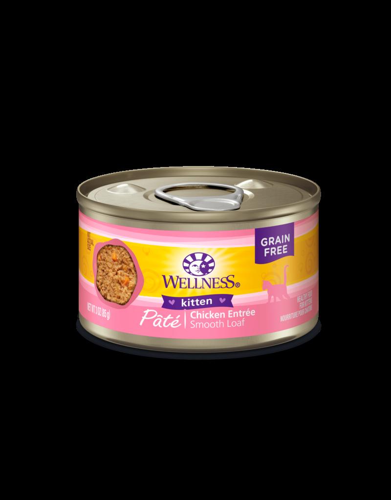 Wellness Canned Cat Kitten Chicken 3 oz