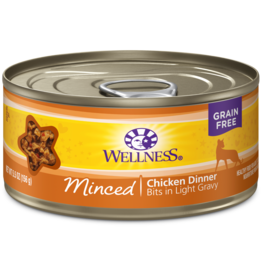 Wellness Canned Cat Minced Chicken 3 oz