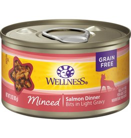 Wellness Canned Cat Minced Salmon 3 oz
