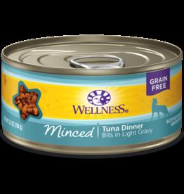 Wellness Canned Cat Minced Tuna 3 oz
