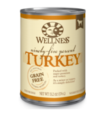 Wellness Canned Dog 95% Turkey 13.2 oz